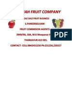 Subbaiah Fruit Company
