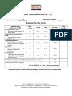 155 s-economic research individual technical rubric 2014