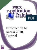 Intro Access 2010