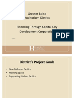 presentation to greater boise auditorium district
