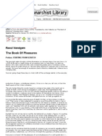 The Book of Pleasures (Raoul Vaneigem)