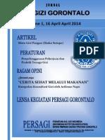 Jurnal Ahli Gizi Gorontalo, Vol. 1, 16 April 2014