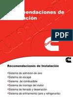 Motores Cumins - Intalacion de Accesorios y Sistema de Diesel