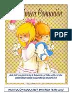 2013 Primera Comunion Cuadernillo