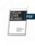 Peter D Verheyen - 2001- Vellum Over Boards