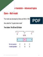 Bipolar Transistor_Advanced Topics