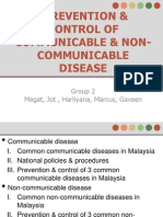 01 - Prevention & Control of Communicable & Non-Communicable Disease