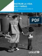 Guía para apoyar intervenciones psicosociales en Emergencias y Desastres. UNICEF