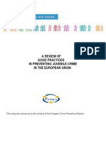 A Review of Good Practice in Preventing Juvenile Ccrime in the EU