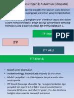 Purpura Trombositopenik Autoimun (Idiopatik)