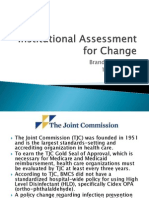 institutional assessment for change