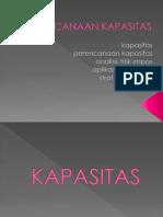 Manajemen operasional - Perencanaan Kapasitas