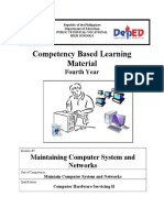 CHS Module 7 - Maintain Computer System and Networks