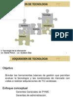 Adquisicion de Tecnologia