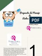 Plantilla Presupuesto Community Manager