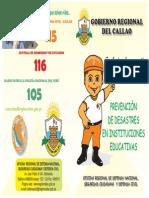 Folleto Prevencion IE - NINOS