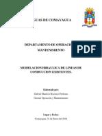 Modelacion Hidraulica de Lc