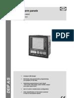 Panel de Alarmas Al8-2 Deif