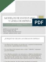 Modelos de inventario y línea de espera