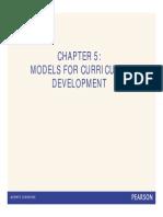 Models Curriculum