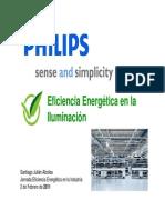 Eficiencia Energetica en Iluminacion Industrial PHILIPS JornadaIndustria2011