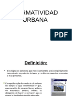 Normatividad Urbana