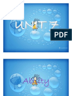 Unit 7 - All Contents