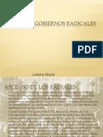 Radicalismo.luciana Aburto