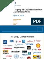 Org Structure governance model
