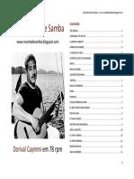 Letras Dorival Caymmi 78 Rpm_2