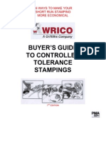 BUYER'S GUIDE TO CONTROLLED TOLERANCE STAMPINGS