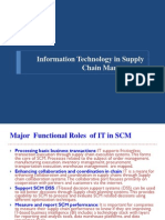 Information Technology in Supply Chain Management