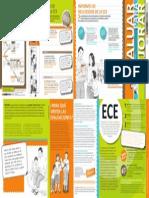 Brochure Informativo-Evaluar Para Mejorar