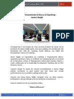 La contra- Pensamiento crítico y coaching