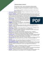 Fabricants de Produits Pharmaceutiques Et Naturels