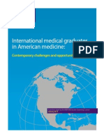 International Medical Graduates in American Medicine