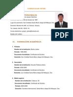 Curriculum Jaime Jarquin Martinez.