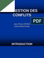 Ppt La Gestion Des Conflits9 - Copie