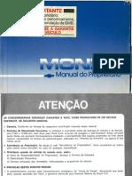 Manual Monza 1986