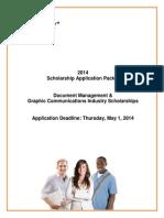 2014 EDSF Scholarship Application