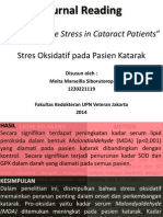 Journal Reading, mata, katarak dan stres oksidatif