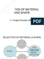 Selection of Material and Shape (7)