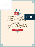 bill of rights giveaway packet