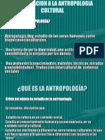 Aproximacion a La Antropologia Cultural
