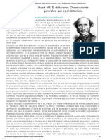 Stuart Mill, El utilitarismo_ Observaciones generales, qué es el utilitarismo _ Filosofía Contemporánea