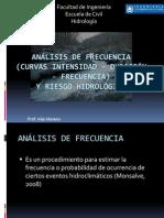ULA Analisis de Intensidad Duracion y Frecuencia de Lluvias