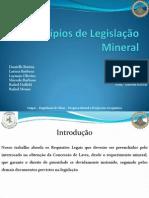 princípios da legislação mineral.pptx
