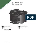 Manual Laserjet Pro m1530