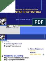 Materi 1 Pengantar Statistika
