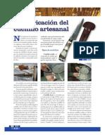 Fabricacion Artesanal de Cuchillos